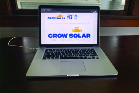 The Grow Solar website is shown on Wednesday, July 21, 2021.