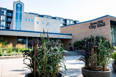 Iowa City City Hall on Tuesday, July, 6, 2021. City Hall is located at 410 E. Washington Street.