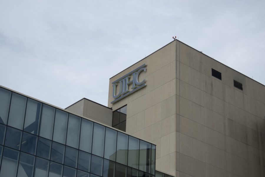 University of Iowa Hospital and Clinics are seen Wednesday, Aug. 24, 2021.