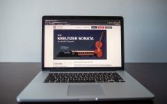 The Riverside Theatre website displays information for the play The Kreutzer Sonata on Thursday, July 29.