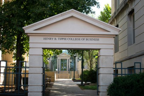 The Henry B. Tippie College of Business is seen on Sunday Sept. 26, 2021.