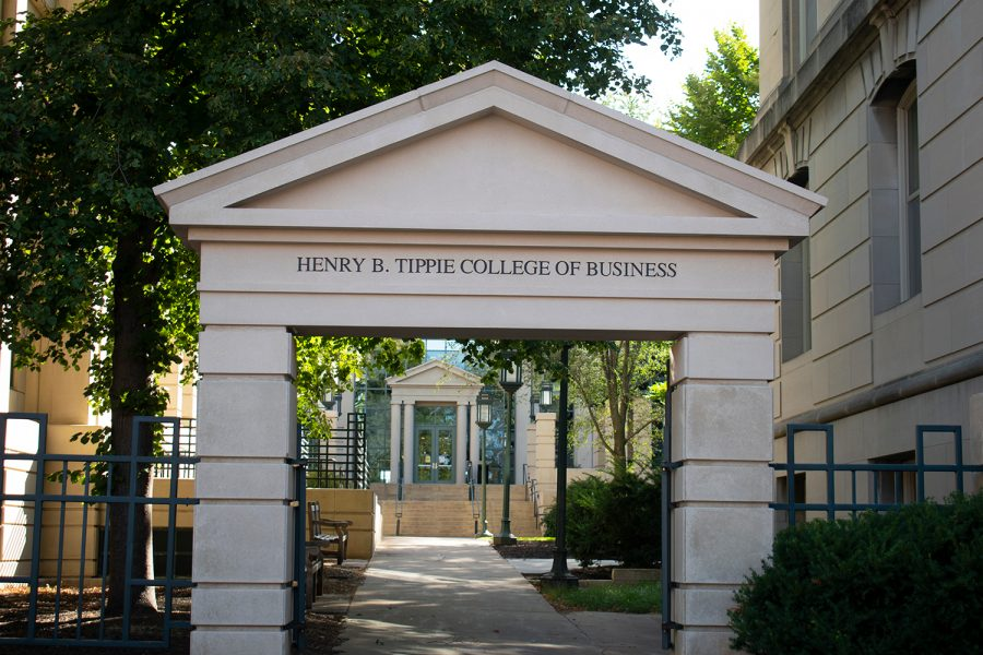 The+Henry+B.+Tippie+College+of+Business+is+seen+on+Sunday+Sept.+26%2C+2021.+