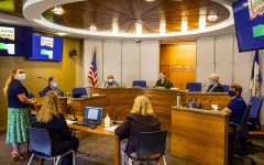 A Johnson County Board of Supervisors informal meeting is held in the Johnson County Administration building on Wednesday, Sept. 29, 2021.