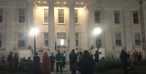 DITV: Iowa City Residents Protest for Abortion Rights in the Without Us March