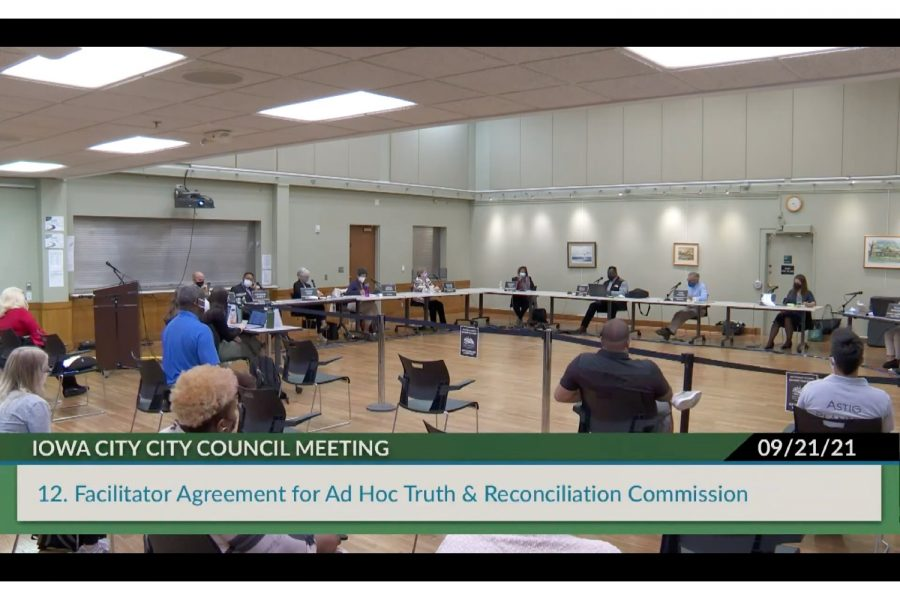 Iowa City City Council votes down Truth and Reconciliation Commission facilitator proposal