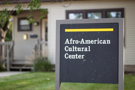 The Afro-American Cultural Center is seen at the University of Iowa Thursday, Sept. 9, 2021.