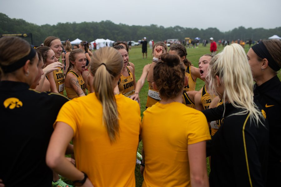 The University of Iowa hosts the Hawkeye Invite at the Ashton Cross Country Course on Friday, Sept. 3, 2021. (Jenna Galligan/The Daily Iowan)