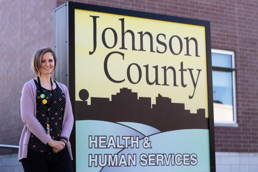 Johnson+County+Public+Health+Director+Danielle+Pettit-Majewski+poses+outside+of+Johnson+County+Public+Health+on+Tuesday%2C+Sept.+21%2C+2021.+
