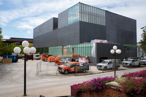 The construction of the Stanley Museum is shown on Tuesday, Sept. 14, 2021.