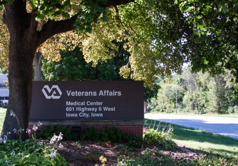 The outside of the Veteran Affairs Medical Center on Monday, Sept. 6, 2021.