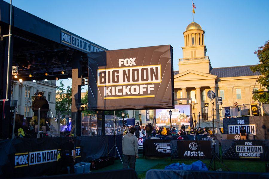 FOX+Big+Noon+Kickoff+at+No.+3+Iowa+and+No.+4+Penn+State