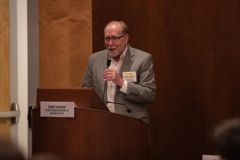 Former Rep. Dave Loebsack reflects on career in Congress in conversation on future of Democratic Party