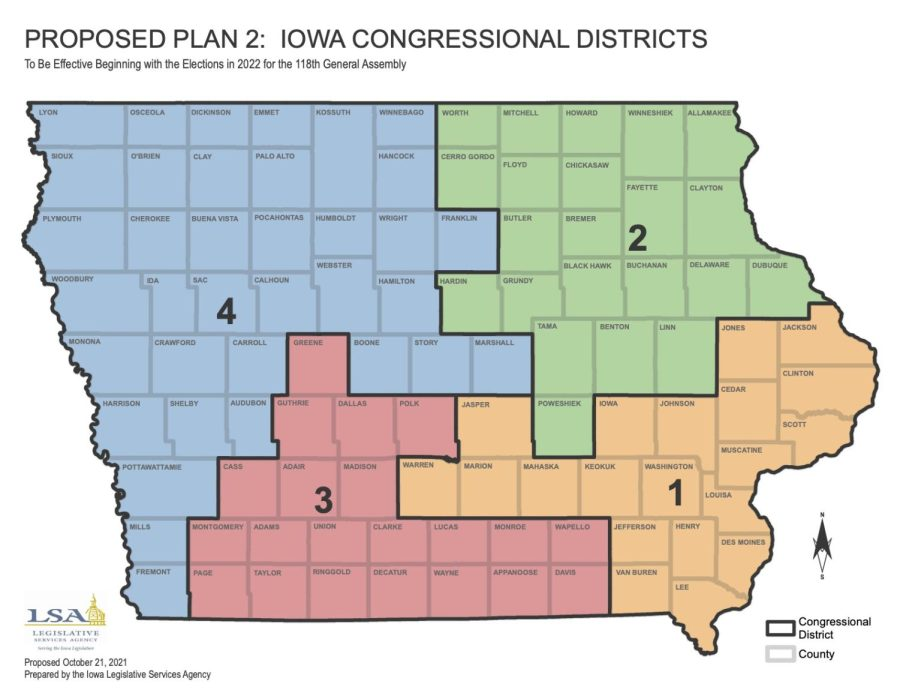 Iowa Legislative Services Agency releases second redistricting plan