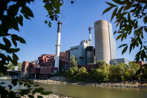 The University of Iowa Power Plant as seen on Tuesday, Oct. 19, 2021.