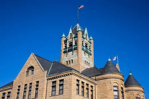 Johnson County Courthouse.
