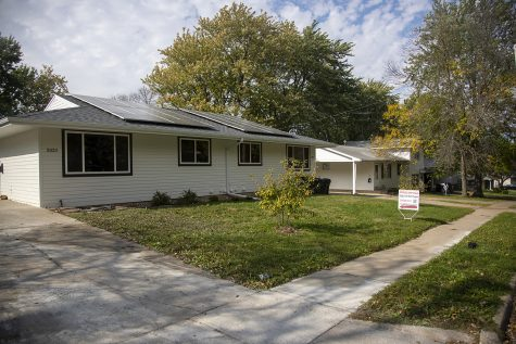 A duplex on Taylor Drive in the South District Home Investment Partnership Program is seen on Wednesday, Oct. 20, 2021. The Program aims to provide housing for low income residents.
