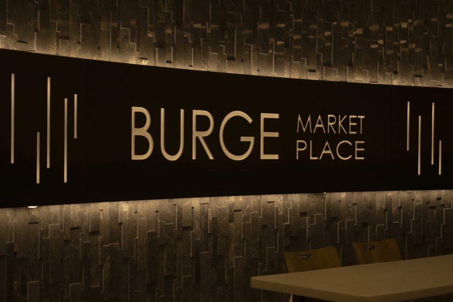 Burge Market Place is seen on Monday Oct. 11, 2021. (Raquele Decker/The Daily Iowan)